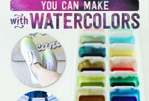Watercolor Projects
