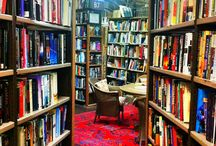 Luscious Libraries (and book shops!)