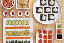 Sushi making party.  / by Jamie Bryan Adams
