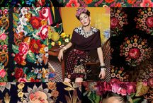 AW15 Inspiration / AW15 Style and Trend Inspiration - I just love the jewel tones, peacock teals, bold brocade florals and the gothic victorian influence this season.