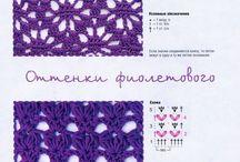 Puntadas a crochet