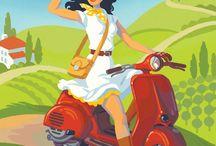 Vintage Italian Travel Posters (TIN)