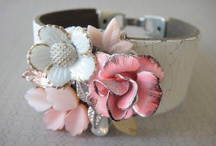 Upcycled/repurposed jewelry bracelet / by Helen Karlsson