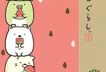Cute Animals, Monsters, Food. / Molang, Pusheen, Rilakkuma, Dragon, Monsters, Food, Sushi and more.