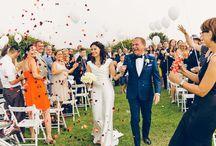Hochzeitsmomente & Real Weddings in der Toskana / Hochzeitsmomente & Real Weddings bei Hochzeiten in Italien