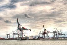 Harbour Cranes / Rotterdam