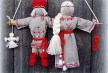 lanka ja kangas nuket