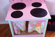 kitchen sets for kids  / by Rena Buxton