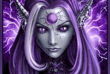 Color -  Lilac,purple