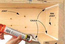 Sealing and Insulation / (Audit, Home Assessment, sustainability, water, conservation, energy, money, design, technology, home, practices, green, retrofit)