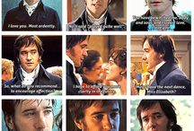 Mr Darcy, Mr Rochester, Mr Knightley / ...my ideal men...