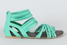 sandals =) / by Tiffany Perry