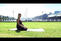 Fitness / Easy yoga routines to do while traveling.