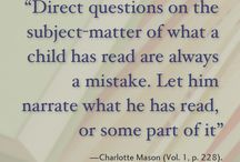 Charlotte Mason Quotes / Quotes from Charlotte Mason.