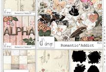 CT Doudou's Design / Pages de Scrap Digital réalisées avec les kits de Doudou's Design
