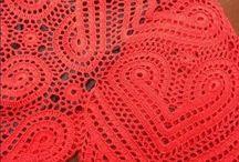 vestido vermelho de coração