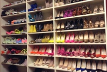 Dream Closets / FIlled to the Brim With Luxurious Clothing / by Chantel Gia