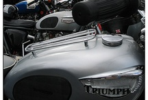 Triumph Motorcycles / Triumphs in their natural environment.