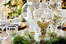 Christmas Tea Table Ideas / by Jessica Smalley