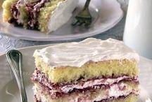 torta delizia ai frutti di bosco