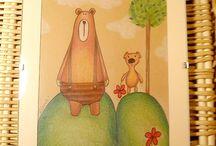 Maľby, kresby / Moje kreslené tvorenie