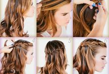 penteados comunhão