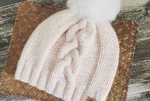 вязание зима