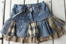 saias de meninas
