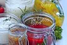 vinagretas y salsas