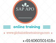 SAP APO Online Training / SAP Advanced Planner and Optimizer Training environment with real time scenarios and services like training material, sever access with experienced consultent