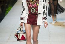 Dolce & Gabbana Spring 2017 Ready-to-Wear for sale / A 'Tropico Italiano' theme sets a street party with pasta-print dresses and hotel room slipper-slides all in celebration of Italy. Plus, all the best Dolce signatures (including the widow's dress, ornate toy soldier jackets and accessories) brim with fresh character. Shop the outfits >> http://rstyle.me/n/b5j63mrm5w