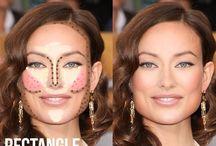 Tvár - makeup