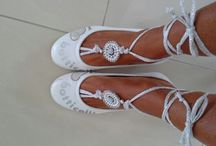 Barefoot sandels handmade by ByCreaSan