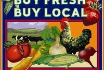 Locavores Unite / Buying and eating local produce.