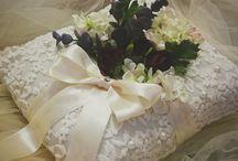 Bearer pillow ring / Bearer pillow ring for wedding