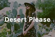 Desert Please / We gave Natalie and Dylana Suarez some clothes... This is what we got.