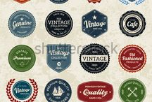 Badges, logos, stickers / Badges, logos ideas