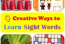 Sight Words and reading / by Charity Cole
