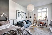 scandinavian studio apartments