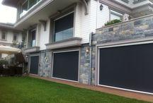 Crocist güneş kontrol sistemleri / Özel villa uygulaması