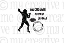 Touchdown / Inspiration for this stamp set!