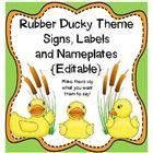 Classroom Ducky theme