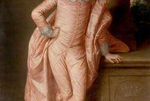 18th century costume à la Van Dyck