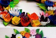 tavaszi dekorációk