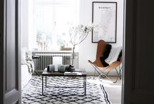Living Room / Scandinavian living room inspiration | Nordic style with Moroccoan twist |  livingroom sofa rug carpet interior olohuone sisustus koti matto ideat