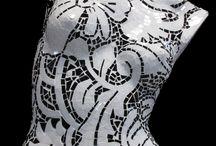 mosaic busts