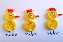 Paper Quilling Ideas / Great Paper Quilling ideas for beginners, as well as plenty of Paper Quilling inspiration for all!