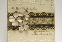 Cards - Anniversary and Wedding