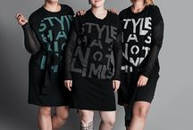 "Style Has No Limits / Three women who wear bigger clothing sizes agreed to be photographed for the latest instalment of the ""Style Has No Limits"" autumn urban fashion collection, a collaboration between Julia Janus and Moteris magazine.The collection is dedicated to not only women of different age groups but also different body size."