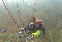 Tandem Flights / paragliding